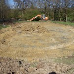 Lake Construction, Pond Construction, desilting, silt removal in Rotherfield - dredging, aquatic solutions, Rotherfield, Pagan Plant
