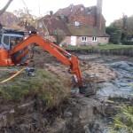 Pagan Plant Lake construction - lake dredging